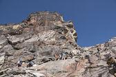 在喜马拉雅山脉徒步旅行 — 图库照片