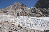 Pristine Himalayan Glacier — Stock Photo