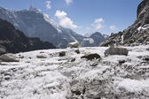 Himalayan Glacier — Stock Photo