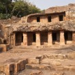 Ancient Cave Temples in Orissa — Stock Photo #9180981