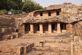 Ancient Cave Temples in Orissa — Stock Photo
