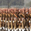 Colorful Soldiers Of The Indian Army — Foto Stock