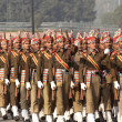 Colorful Soldiers Of The Indian Army — Stok fotoğraf