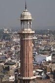 Minaret mešity pátek — Stock fotografie