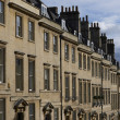 Stock Photo: Town Houses in Historic Bath
