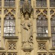 Stock Photo: Statue on Bath Abbey