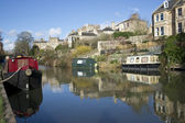 Kennet and Avon Canal — Stock Photo