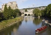 River Avon in Bath — Stock Photo