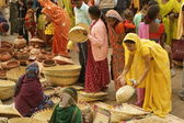 Indian Market — Stock Photo