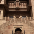 Entrance to Junagarh Fort - Stock Photo