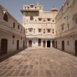 Palace Courtyard - Stock Photo