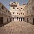 Stock Photo: Palace Courtyard