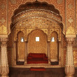 Interior of an Indian Palace - Stock Photo