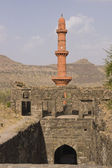 Victory Tower at Daulatabad Fort, India — Stock Photo