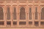 Ornate Window Screen — Stock Photo