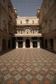 Ornate Courtyard — Stock Photo