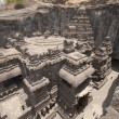 Stock Photo: Kailas Temple at EllorCaves