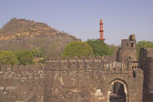 Entrance to Indian Fort — Stock Photo