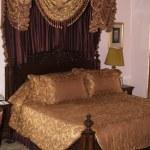 Luxury Bed — Stock Photo