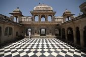 Courtyard of Indian Palace — Stock Photo