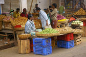 Indian Street Market — Stock Photo