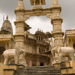 Historic Hindu Temple - Stock Photo