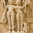 Hindu Temple Figures - Stock Photo