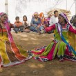 Tribal Dance — Stock Photo