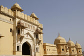 Entrance to Amber Fort — Stock Photo