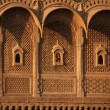 Ornate IndiPalace, Jaisalmer — Stock Photo #9945925