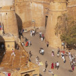 Entrance to Jaisalmer Fort — Stock Photo #9946079