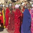 Colourful Procession — Stock Photo #9946135