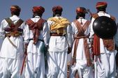 Rajasthani Men — Stock Photo