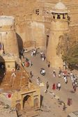 Entrance to Jaisalmer Fort — Stock Photo