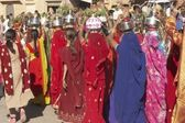 Colourful Procession — Stock Photo