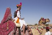 Indian Desert Festival — Stock Photo