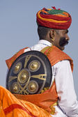 Indian Man In Rajasthani Dress — Stock Photo