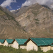 Bamboo Huts - Stok fotoraf