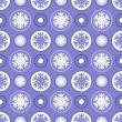 Royalty-Free Stock Vector Image: Snowflakes pattern