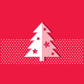 Christmas tree — Stockvektor