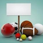 Sport balls — Stock Photo