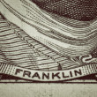 Franklin — Stock Photo