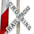 Stock Photo: Railroad crossing