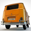 Stock Photo: Van isolated on white background