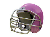 Pink football helmet isolated on white background — Stock Photo