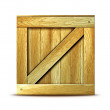 Wooden box — Stock Photo #9144439