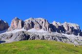 Pordoi pass, Trentino, Italy — Stock Photo
