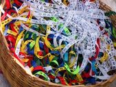 Bonfim ribbons of faith — Stock Photo