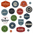 Vintage labels — Stockvektor