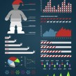 Royalty-Free Stock Vector Image: Christmas Infographic design elements